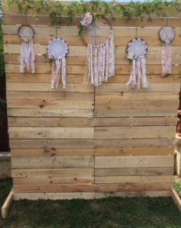 Pallet Wood Backdrop / Wedding for Sale in San Marcos, CA