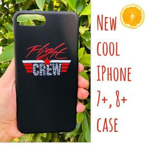 New cool iphone 7+ or iphone 8+ PLUS case slim fit plastic sleeve case jordans jordan hypebeast hype swag men's women's for Sale in San Bernardino, CA