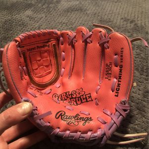 Girls Softball /Teeball Glove - Kids for Sale in Phoenix, AZ
