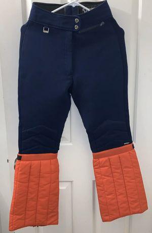 Fera International Womens Ladies Insulated Ski Snow Pants Nylon Blue Red 10R for Sale in Novato, CA