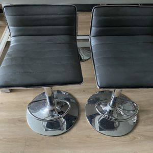 4 Leather Bar Stools for Sale in Arlington, VA