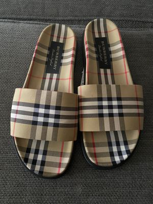 Burberry Slides Size 13 for Sale in Fayetteville, NC
