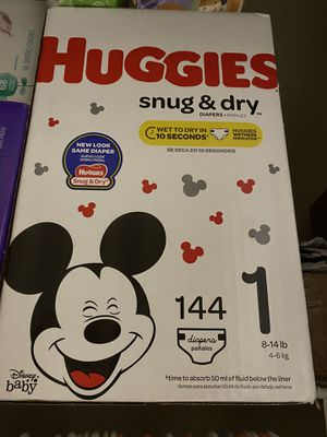 Huggies Snug and Dry Diapers for Sale in Tomball, TX