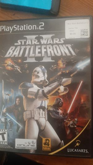 Starwars battlefront 2 ps2 for Sale in New Haven, CT