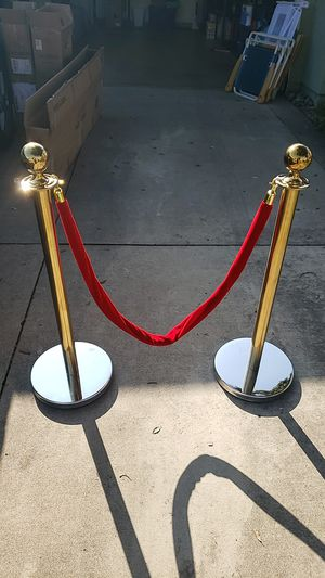 Red Velvet Rope for Sale in Rancho Cucamonga, CA