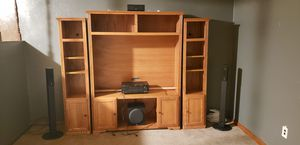 Home theater surround sound system with entertainment stand ( brand new ) for Sale in Houston, PA