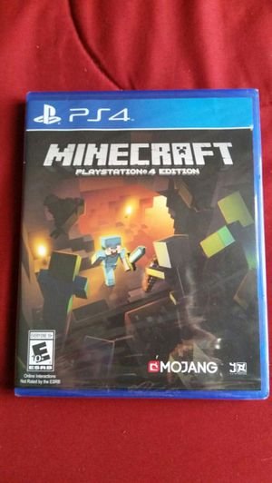 Minecraft Playstation 4 Game for Sale in Lake Worth, FL