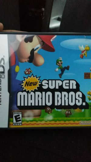 New super mario bros ds (2games) for Sale in Sterling, VA