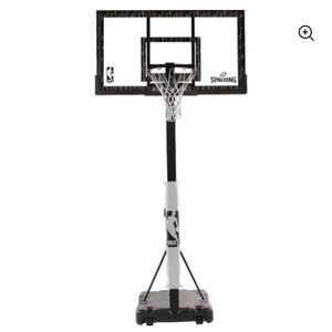 """Spalding 60"""" Acrylic Portable Hoop for Sale in Round Lake, IL"""