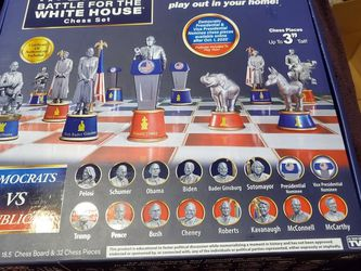 2020 Battle For The White House Chess Set for Sale in Rockville,  MD