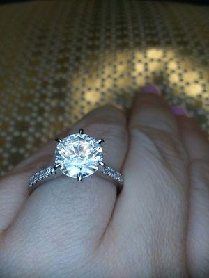2.35 carat certified diamond engagement ring for Sale in Atlanta, GA