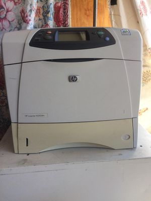 HP Laserjet 4250dtn Black & White Printer for Sale in Santa Ana, CA