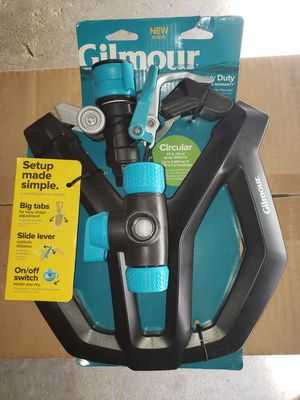 Gilmour 5800 sq. ft. Coverage Area, Heavy Duty Circular Sprinkler for Sale in Chicago, IL