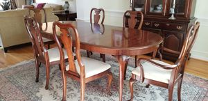 Dining room table and sideboard for Sale in Charlottesville, VA