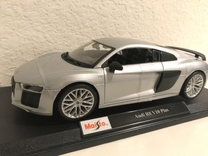 1:18 Maisto diecast model of Audi R8 V10 Plus for Sale for sale  Houston, TX