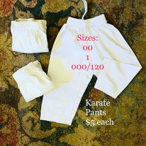 Karate Pants for Sale in Greenville, SC