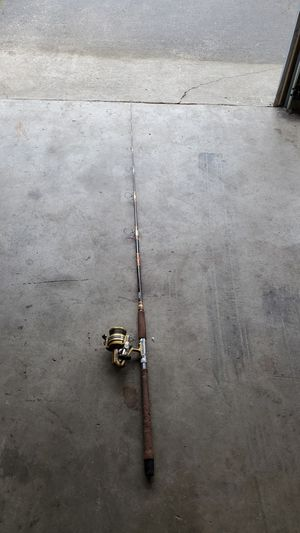 Sabre fishing rod and reel for Sale in Port Orchard, WA
