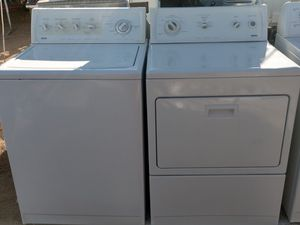 """""""KENMORE"""" MATCHING SET WASHER & ELECTRIC DRYER SUPER CAPACITY PLUS for Sale in Phoenix, AZ"""