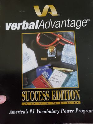 Verbal Advantage Vocabulary Program w/22 CDs for Sale in undefined