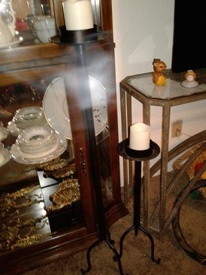 floor candle holders and candles for Sale in Glendale, AZ