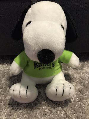 Snoopy Plush (from Knotts Berry Farm) for Sale in San Diego, CA