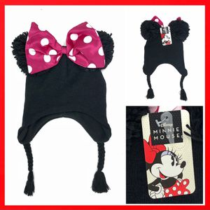 NEW! Youth size Minnie Mouse Beanie beenie winter snow polka dot bow hat disney Mickey Disneyland world Mickey for Sale in Carson, CA