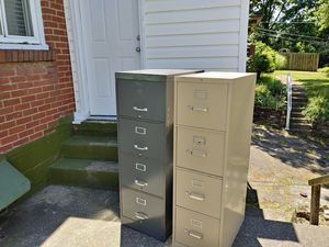 Metal filing cabinets both or one price for Sale in Pittsburgh, PA