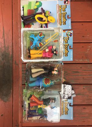 Beatles Yellow submarine figures for Sale in Middleburg Heights, OH