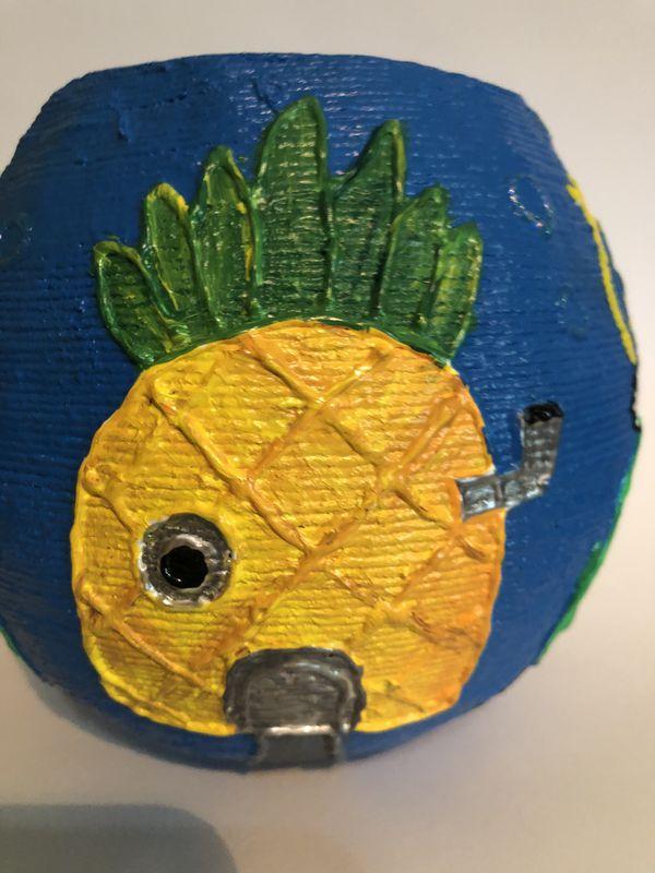 Basket homemade art