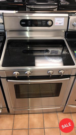 BLOWOUT SALE!Bosch Electric Stove Oven LOWEST PRICES! Free Delivery #1576 for Sale in Glen Burnie, MD