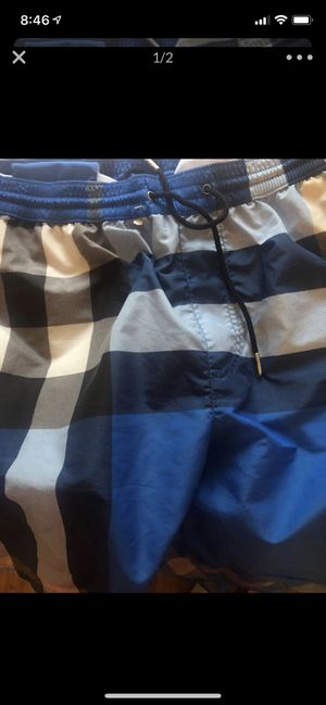 Burberry trunks size xl men's for Sale in Washington, DC