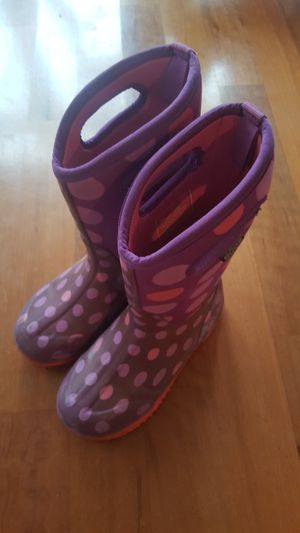 BOGS Youth Girls Winter Boots Size 3 $30 for Sale in Everett, WA