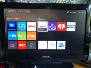 Sanyo Flat Screen TV 26 Inch for Sale in Sarasota, FL