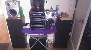 Panasonic receiver and Pioneer speakers for Sale in Lexington, NC