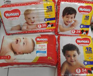 Huggies Diapers any 11 packs for $50 for Sale in Lilburn, GA