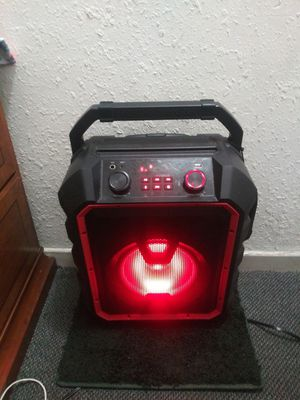 Blackweb Bluetooth Party Speaker for Sale in Anaheim, CA