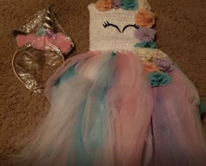 Unicorn dress for Sale in Mechanicsburg, PA