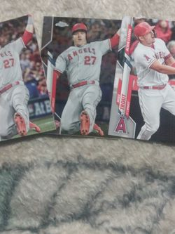 3 CARD MIKE TROUT BUNDLE for Sale in Yakima,  WA
