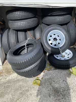 Trailer Tires For Sale $85each one for Sale in Wheaton, MD