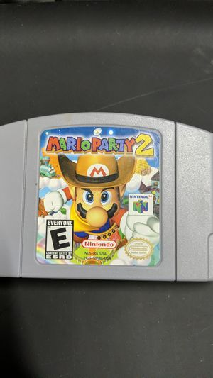 Mario Party 2 N64 for Sale in Raleigh, NC