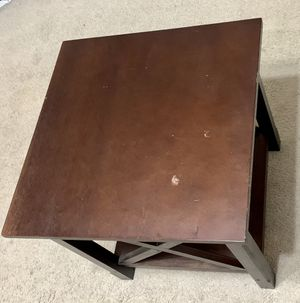End Table - Solid Wood Side Table for Sale in Round Rock, TX