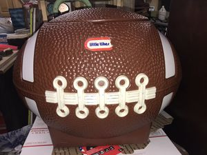 1970's little tikes football toy box / for Sale in Indianapolis, IN