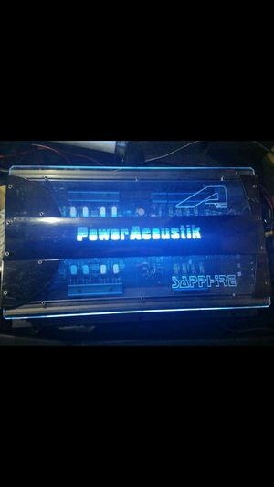 Power Acoustik Sapphire 820w Car Audio Amp for Sale in St. Peters, MO