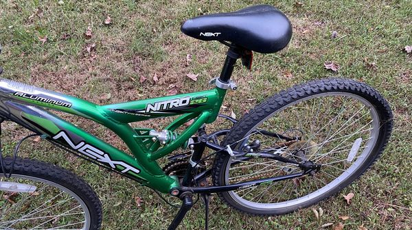 Aluminum next mountain bike