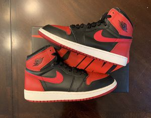 Jordan Banned 1 Size 6y for Sale in Tracy, CA