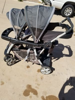 Graco ready2grow double stroller for Sale in Chandler, AZ