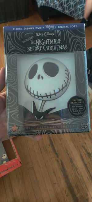 Nightmare Before Christmas 2 disc collectors DVD for Sale in Los Angeles, CA