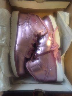 Air Jordan 1 Pink Metal for Sale in Peoria,  IL