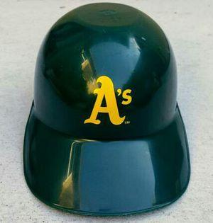 Vintage Oakland A's collectible baseball softball plastic batting nachos helmet for Sale in San Mateo, CA