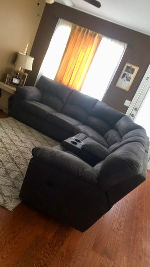 Gray Sectional couch for Sale in Tooele, UT